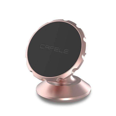 Ahmed China / Rose Gold Original Universal Magnetic Car Phone Holder 360 Degree Rotation