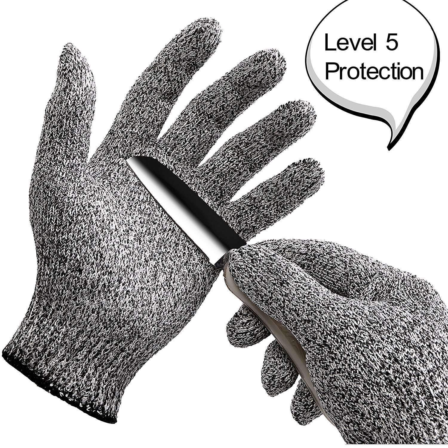 Ahmed gloves Safurance Resistant Gloves Kitchen Cut Food Protection High-Performance 5-Level Protection