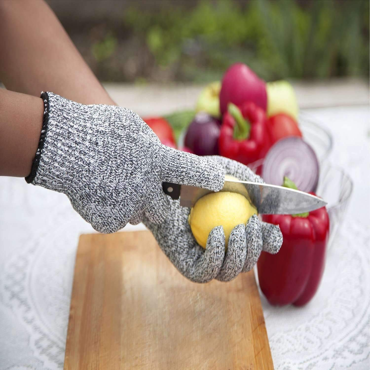 safurance resistant gloves kitchen cut food protection high performanc