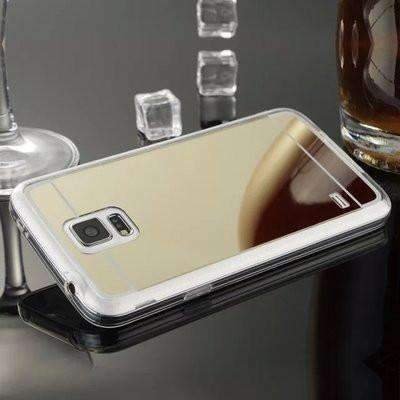 Ahmed Gold / S4 Plating Mirror Back Case Cover For Samsung