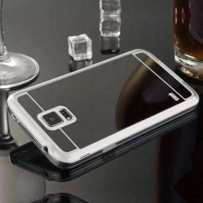 Ahmed Gray / S4 Plating Mirror Back Case Cover For Samsung