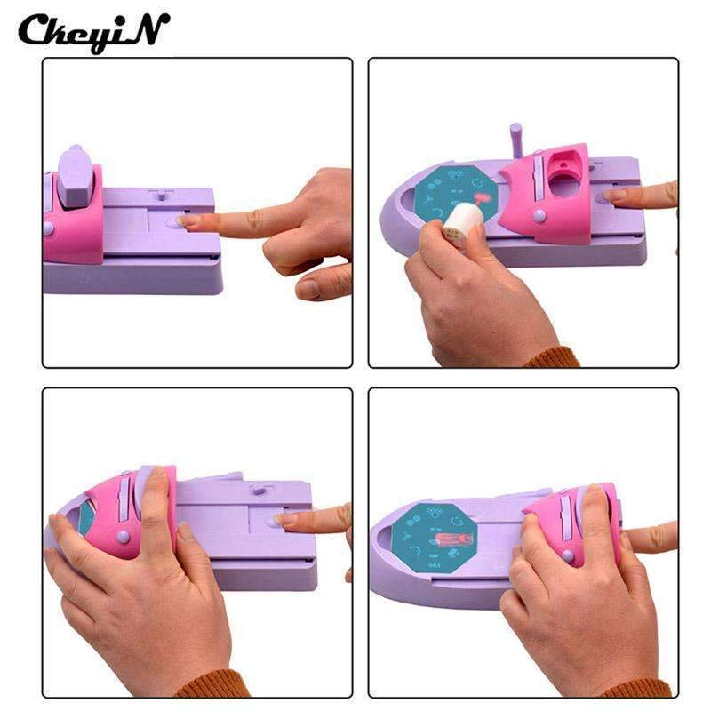 Nail Art Stamping Machine Tutorial Diy Nail Printer Find The Best