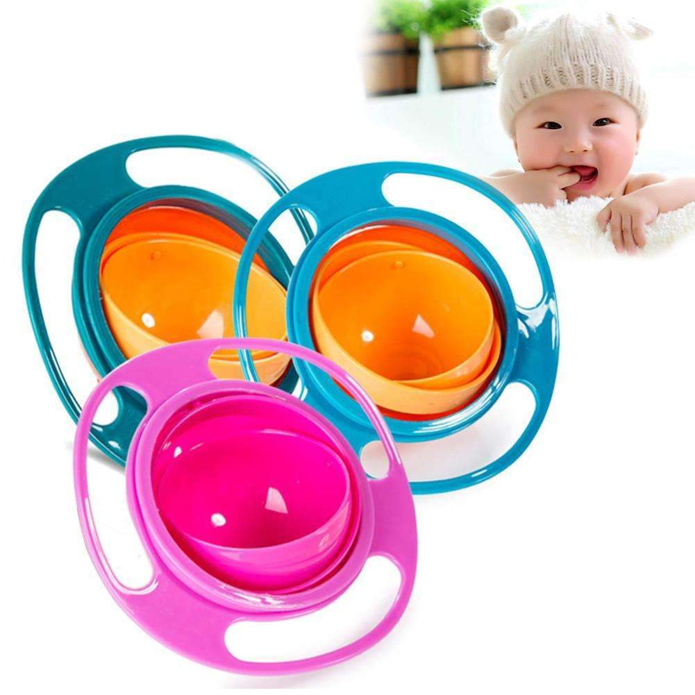 Non Spill Rotating Bowl for your baby now!