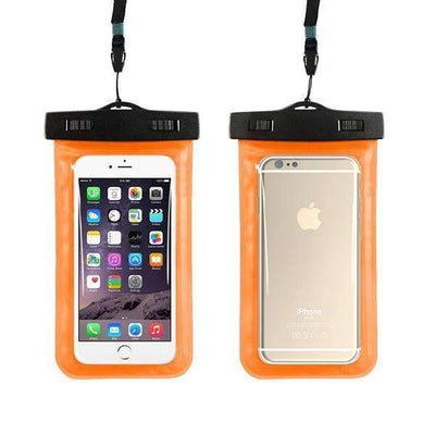 Ahmed orange Universal Phone Bags Pouch with Strap Waterproof Cases Covers for iPhone 6 5S 6S 7 Plus Case Cover