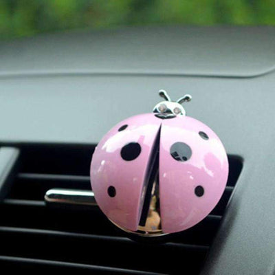 Ahmed pink new arrival!! Car Air Conditioning Outlet Perfume > Ladybug Styling