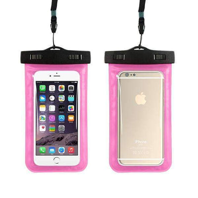 Ahmed pink Universal Phone Bags Pouch with Strap Waterproof Cases Covers for iPhone 6 5S 6S 7 Plus Case Cover