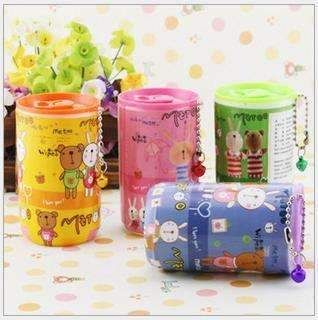 Ahmed Portable wet wipes floral cartoon canned