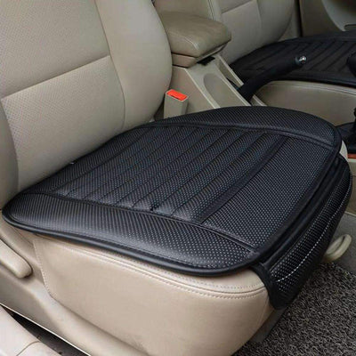 Ahmed PU Leather Car Seat Cover, Four Seasons !!Anti Slip Mat Car Seat Cushion Cover Universal Size