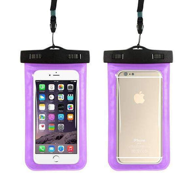 Ahmed purple Universal Phone Bags Pouch with Strap Waterproof Cases Covers for iPhone 6 5S 6S 7 Plus Case Cover