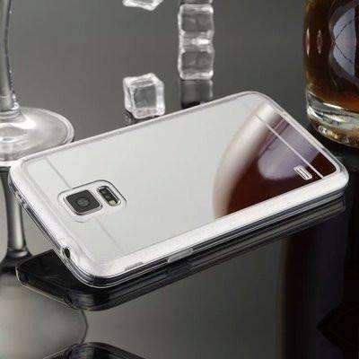 Ahmed Silver / S4 Plating Mirror Back Case Cover For Samsung