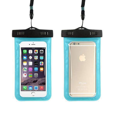 Ahmed sky blue Universal Phone Bags Pouch with Strap Waterproof Cases Covers for iPhone 6 5S 6S 7 Plus Case Cover
