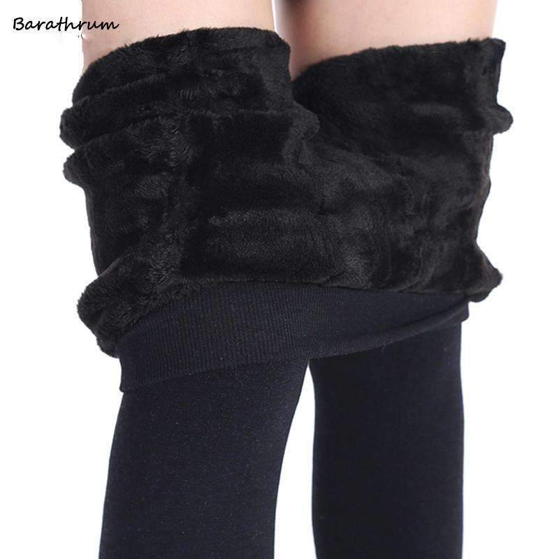 5839c7244 Ahmed Winter Fashion Women s Plus Cashmere Tights High Quality Knitted  Velvet Tights Elastic Slim Warm Thick