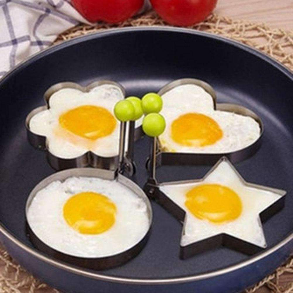 My Envy Shop 1 Piece Stainless Steel Fried Egg Shaper Frying Egg Pancake Mould Mold Kitchen Cooking Tool
