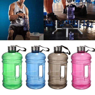 My Envy Shop 2.2L Large Capacity Outdoor Sports Gym Water Bottles Half Gallon Fitness Training Camping Running Workout Water Bottle