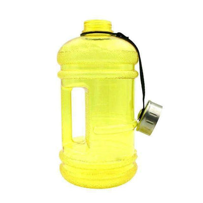 My Envy Shop 2.2l / Yellow 2.2L Large Capacity Outdoor Sports Gym Water Bottles Half Gallon Fitness Training Camping Running Workout Water Bottle