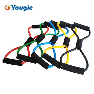 My Envy Shop 2 pieces 8-Shaped Resistance Loop Band Tube for Yoga