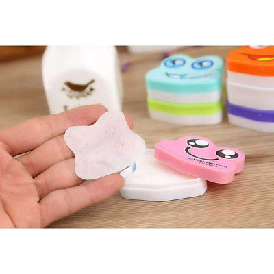 My Envy Shop 20 Boxes Nail Art Polish Remover Pads Wet Wipes Paper Fruit  Flavor Carton Nail Polish Remover  Mix Colors