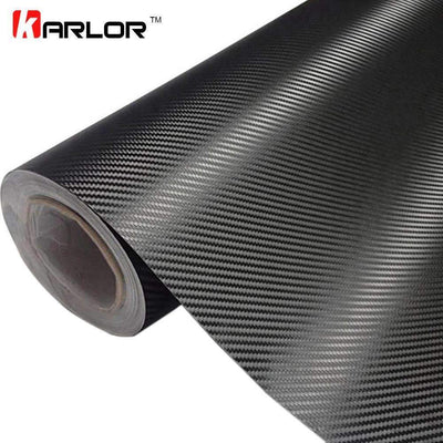 My Envy Shop 3D Carbon Fiber Vinyl Car Wrap Sheet Roll Film,Car Styling Accessories ,30cmx127cm
