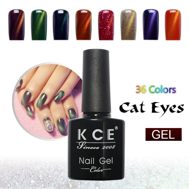 3D Cat Eyes UV Gel Polish Nail Art | Find the best deals and prices ...