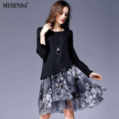 My Envy Shop Autumn Female Sweet Party Dresses Vestido Clothing