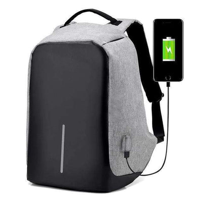 My Envy Shop bag Gray / 15 6 Backpacks Male and female Waterproof Bags, Anti-theft
