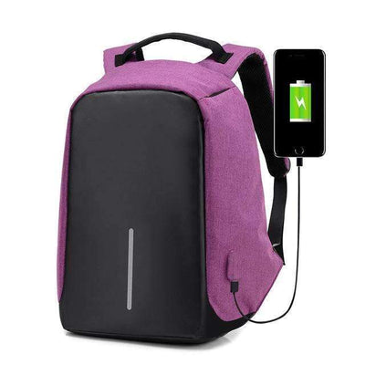 My Envy Shop bag Purple / 15 6 Backpacks Male and female Waterproof Bags, Anti-theft
