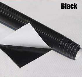 My Envy Shop Black 3D Carbon Fiber Vinyl Car Wrap Sheet Roll Film,Car Styling Accessories ,30cmx127cm