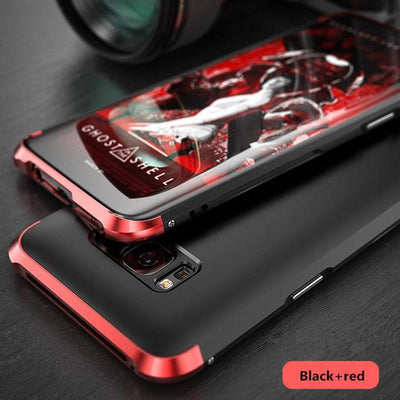 My Envy Shop Black red / For Galaxy S8 Luxury Hybrid Slim Cover 360° Full Protection 3 in 1 For Samsung Galaxy S8 S8+