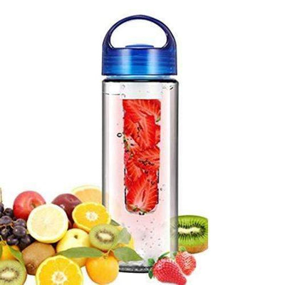 My Envy Shop blue 700ML Plastic FruitWater Bottle With Filter