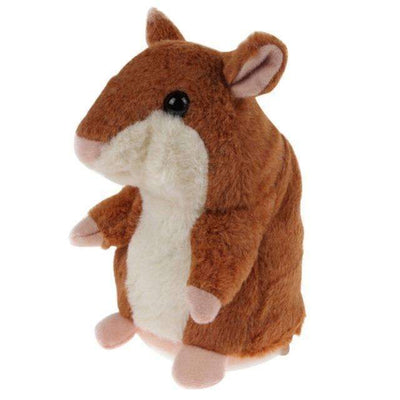 "My Envy Shop Brown ""Limited"" Little Talking Hamster Plush Toy"