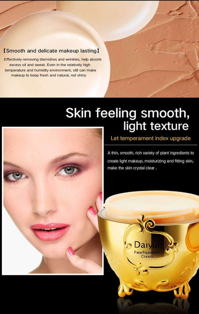 My Envy Shop Daiyun Dr. Feelgood Magic Smooth Silky Face Makeup Primer Invisible Pore Wrinkle Cover Concealer Foundation 20g