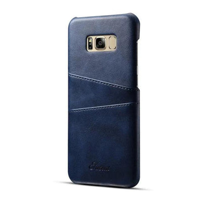 My Envy Shop Dark Blue / For Note 8 case Luxury Leather Wallet Case For Samsung