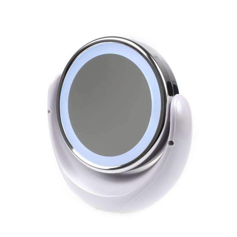 Daylight Led 10x Magnifying Makeup Mirror 8 0 Large Lighted Travel