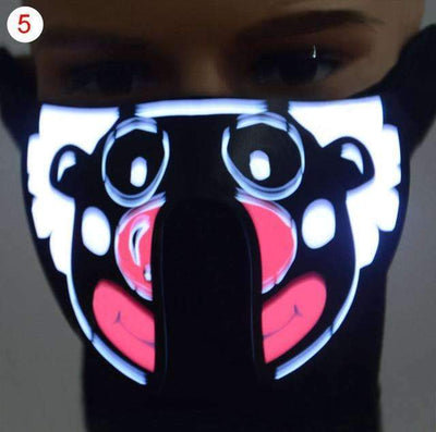 My Envy Shop E Halloween, Cycling, Outdoor activities, Disco, Club or parties LED Masks