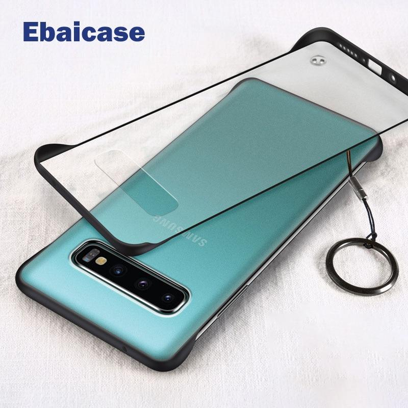 Frameless Case Ring Transparent slim Shockproof For Samsung S10