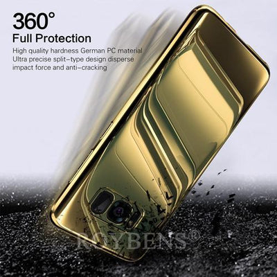 My Envy Shop Gold / Samsung S7 Luxury Mirror 360° Ultra Thin Full Protection Case For Samsung