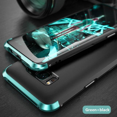 My Envy Shop Green black / For Galaxy S8 Plus Luxury Hybrid Slim Cover 360° Full Protection 3 in 1 For Samsung Galaxy S8 S8+