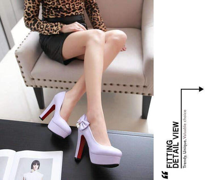 My Envy Shop high heels with high-heeled shoes with butterfly knot diamond