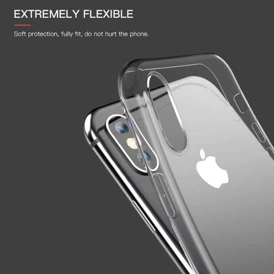 My Envy Shop iphone Luxury iPhone x Silicone case ultra thin & soft slim case