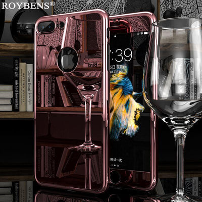 My Envy Shop iphone Luxury Ultra Thin 360 Degree Case for iPhone 7 Case and iPhone 7 Plus