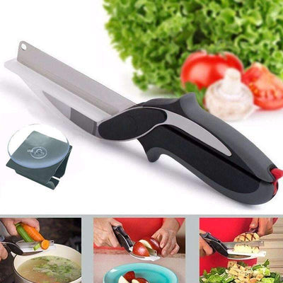 My Envy Shop Kitchen Scissors Clever Kitchen Cutter Knife