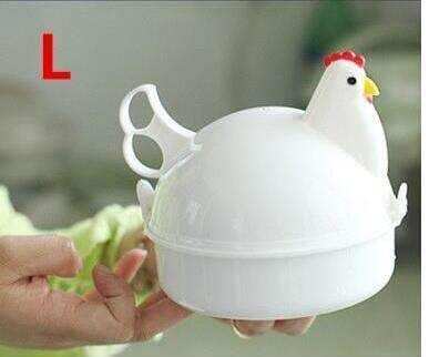 My Envy Shop L High Quality Chicken Shaped Microwave Eggs Boiler Cooker