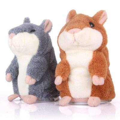 "My Envy Shop ""Limited"" Little Talking Hamster Plush Toy"