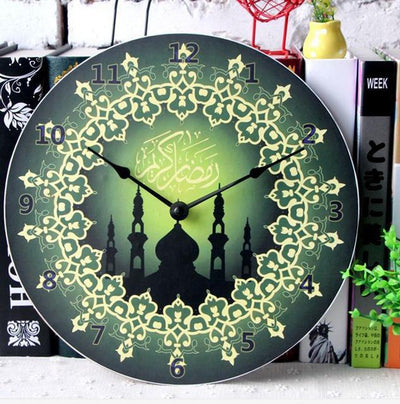 My Envy Shop M Retro Ramadan Series Wall Clock