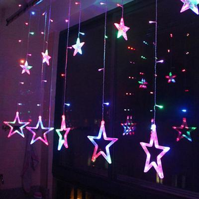 My Envy Shop multicolor / EU-220V Plug 110/220V EU/US Led Christmas Star  Decoration