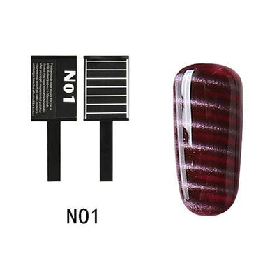 My Envy Shop N01 Gel Nail Polish Top Coat Soak Off UV LED Magnetic 3D Effect Cat Eye