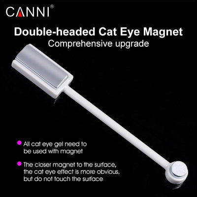 My Envy Shop New Double-headed Magnetic Plate Magnet Pen Nail Art DIY Tool for All Magic 3D Cat Eyes Magnet Nail Gel Polish