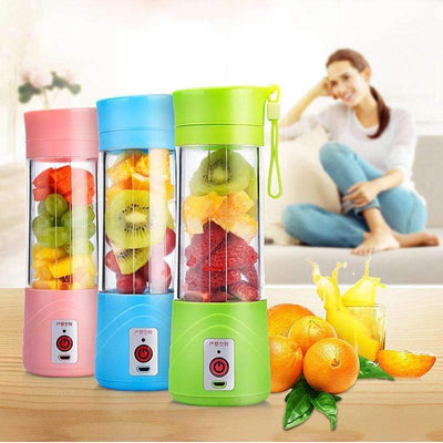 My Envy Shop Original USB Rechargeable Electric Fruit Juicer Cup Blender