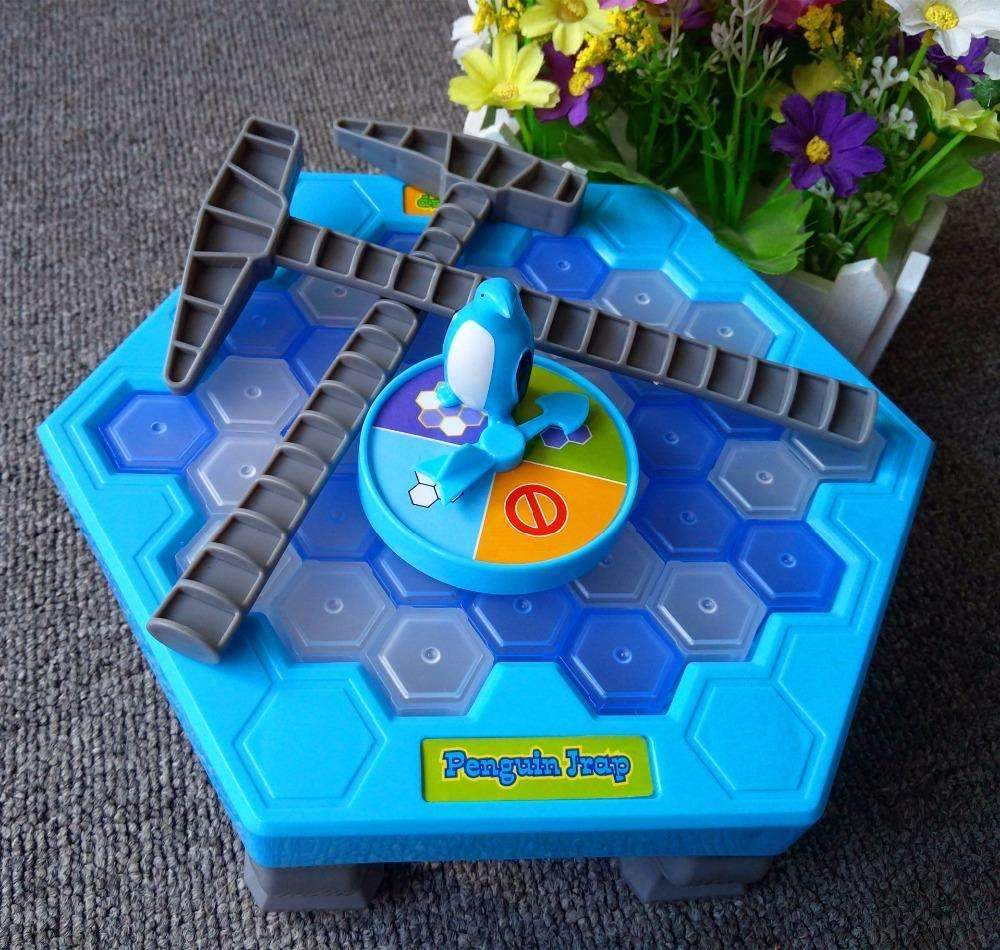 My Envy Shop Penguin trap interactive Ice Breaking Table Anti-stress toy activate fun toy for kids Family