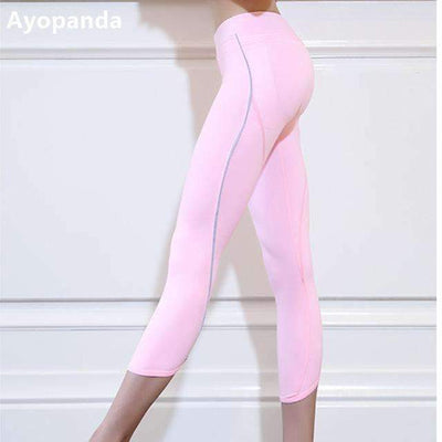 My Envy Shop Pink / S Ayopanda Women's Push Up Sexy Yoga Pants High Quality Cute Fitness Apparel Pink Running Tights Sports Leggings Exercise Capri